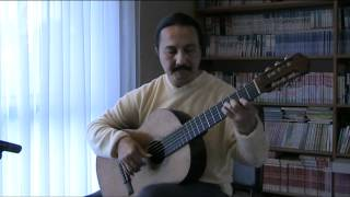 SOR STUDY NO. 5 (Op. 35, No. 22)- Classical Guitar.