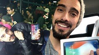 DORMÍ EN LA CALLE para comprar el nuevo IPhoneX thumbnail