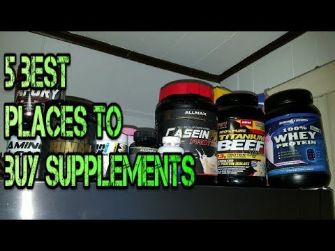 5 BEST Places To Buy Supplements