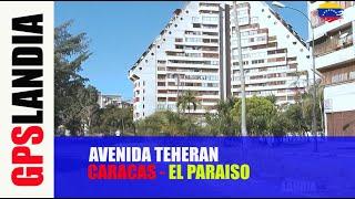 CARACAS AVENIDA TEHERAN EL PARAISO Montalban JUAN PABLO II UNIVERSIDAD UCAB