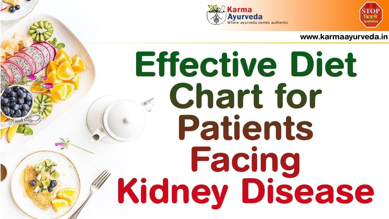 kidney diet chart