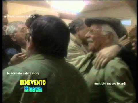 MORTE MARIO COTRONEO presidente del Benevento - servizio del luglio 2001