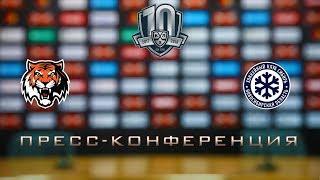 03.01.2018 / Amur - Sibir / Press Conference