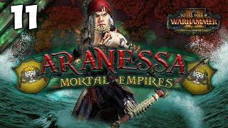 HUNTING THE HAULER!! Total War: Warhammer 2 - Mortal Empires Campaign - Aranessa Saltspite #11