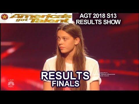 Results Top 5 Michael Ketterer Courtney Hadwin Vicki  Samuel Finale America's Got Talent 2018 AGT