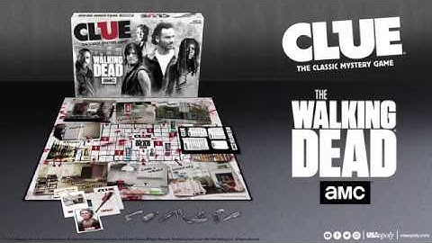 CLUE®: AMC® The Walking Dead® Unboxing