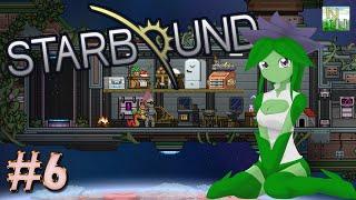 Starbound 6 Изучаем Поселение ФЛОРАН