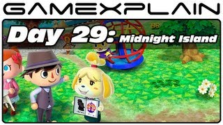 Animal Crossing: New Leaf - Day 29: Midnight Island! (3DS Video Preview)