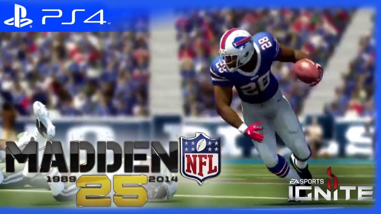 PS4  quot;Madden NFL 25quot; OFFICIAL NextGen Gameplay Trailer  YouTube