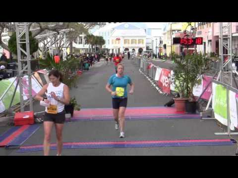 Half Marathon Finish Line Race Weekend Bermuda January 15 2012