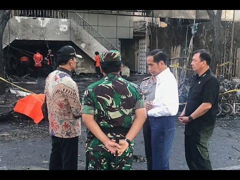 عائلة بينهم أطفال نفذوا هجمات الكنائس في إندونيسيا  - 16:23-2018 / 5 / 13