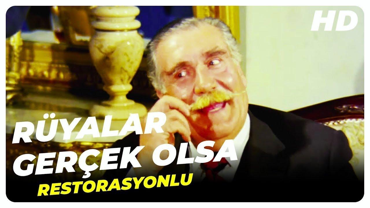 Rüyalar Gerçek Olsa  - Eski Türk Filmi Tek Parça (Restorasyonlu)
