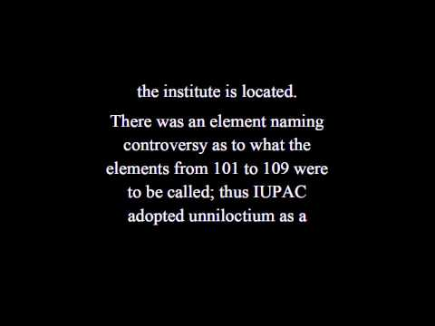 What  Is  Hassium