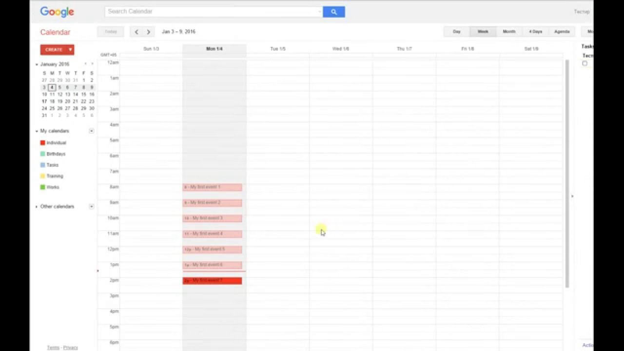 From Sheets to Calendar - Google Sheets add-on