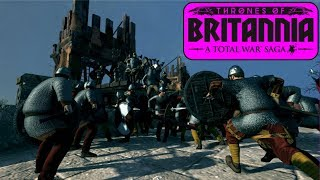 EPIC CLASH OF THE SHIELD WALLS! Total War Saga: Thrones of Britannia   Total War TOB