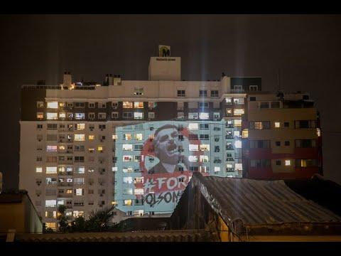 Panelaço contra Bolsonaro em Porto Alegre