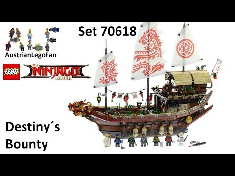 Lego Ninjago Movie 70618 Destiny´s Bounty - Lego Speed Build Review