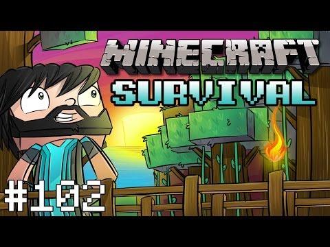 Minecraft : Survival - Part 102 - Jeb's Balloon