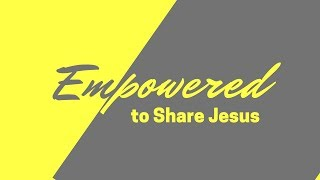 "March 31 2019 ""Such as I Have (Empowered to Share Jesus)"" Daniel Prock"
