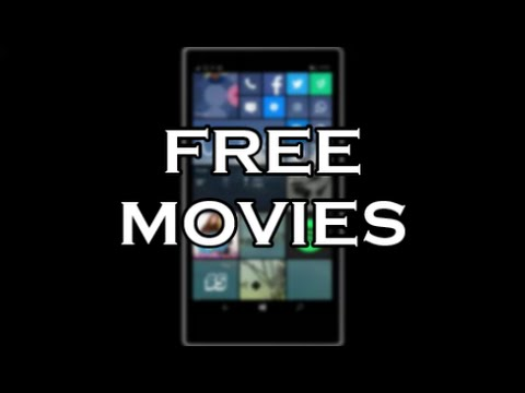 How to Watch Free Movies  Windows 10 Mobile