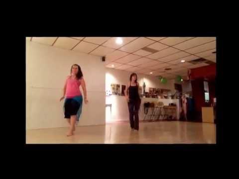 Mayada's Advanced Bellydance Class Choreo to Ragheb Alameh's Saharouny.