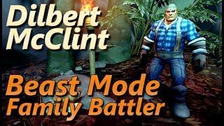 Dilbert McClint Beast Mode Family Battler