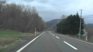 国道236号(3)オロマップ展望台~野塚トンネル[浦河町]