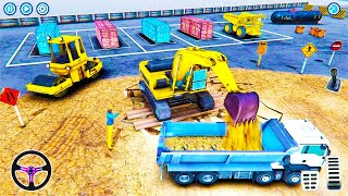 Super Construction Machine - Mega Tunnel Construction Simulator - Android Gameplay 2021 #2