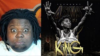 FREE NBA YOUNGBOY!!! NBA Youngboy - 4 Sons of a King (Official Audio) REACTION!!!