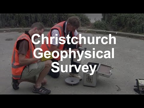 Christchurch Geophysical Survey