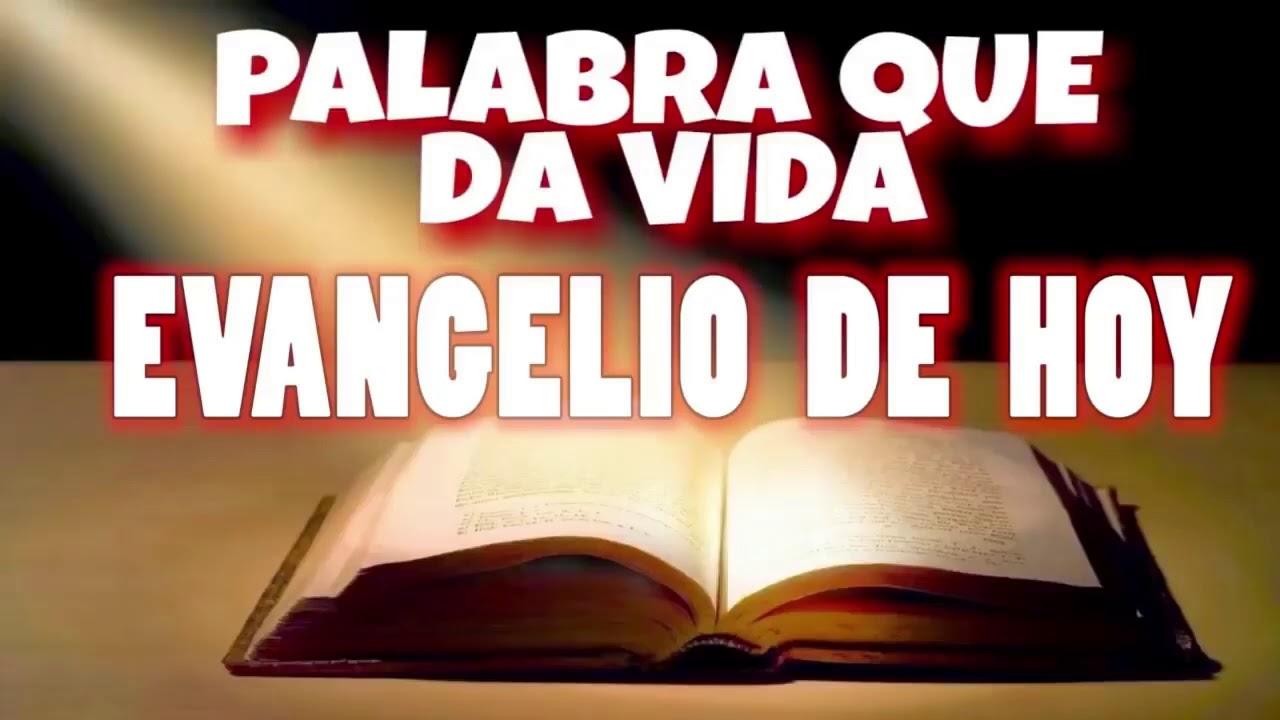 EVANGELIO DE HOY DOMINGO 29 DE NOVIEMBRE CON ORACIÓN Y REFLEXIÓN | PALABRA QUE DA VIDA