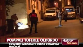 Bursa'da sokak ortasında cinayet