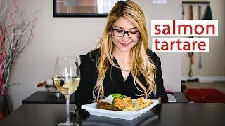 Date Night Cook: Salmon Tartare