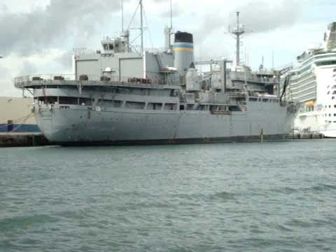 USNS Saturn [T-AFS 10] - formerly RFA STROMNESS (A 344)-Military Sealift Command-