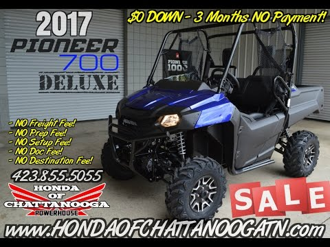2018 honda 700 pioneer. unique 2018 2017 pioneer 700 deluxe review of specs  discounted prices  honda  chattanooga in tn  youtube inside 2018 honda pioneer a