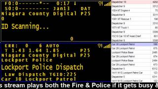 01/13/18 AM Niagara County Police & Fire Scanner Stream Fire Wire