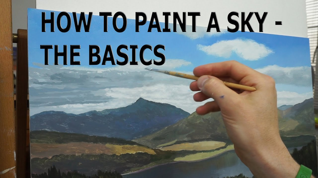How To Oil Paint For Beginners Video