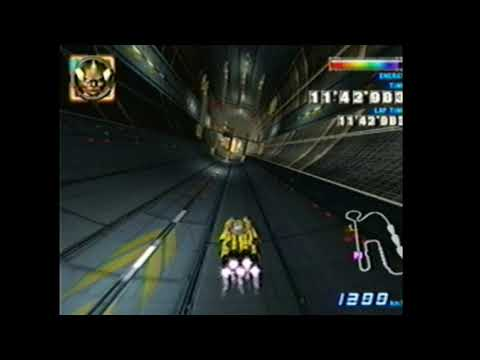 F-Zero GX PTLP High And Low Shift Boost At The End Of Lap 1
