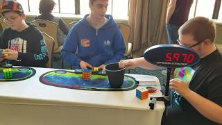 6.52 3x3 Rubik's Cube Official Average! [First Counting Five + Four A Perms] thumbnail