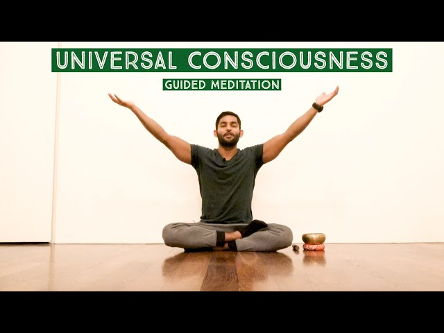 Universal Consciousness Guided Meditation | Raise your frequency vibration