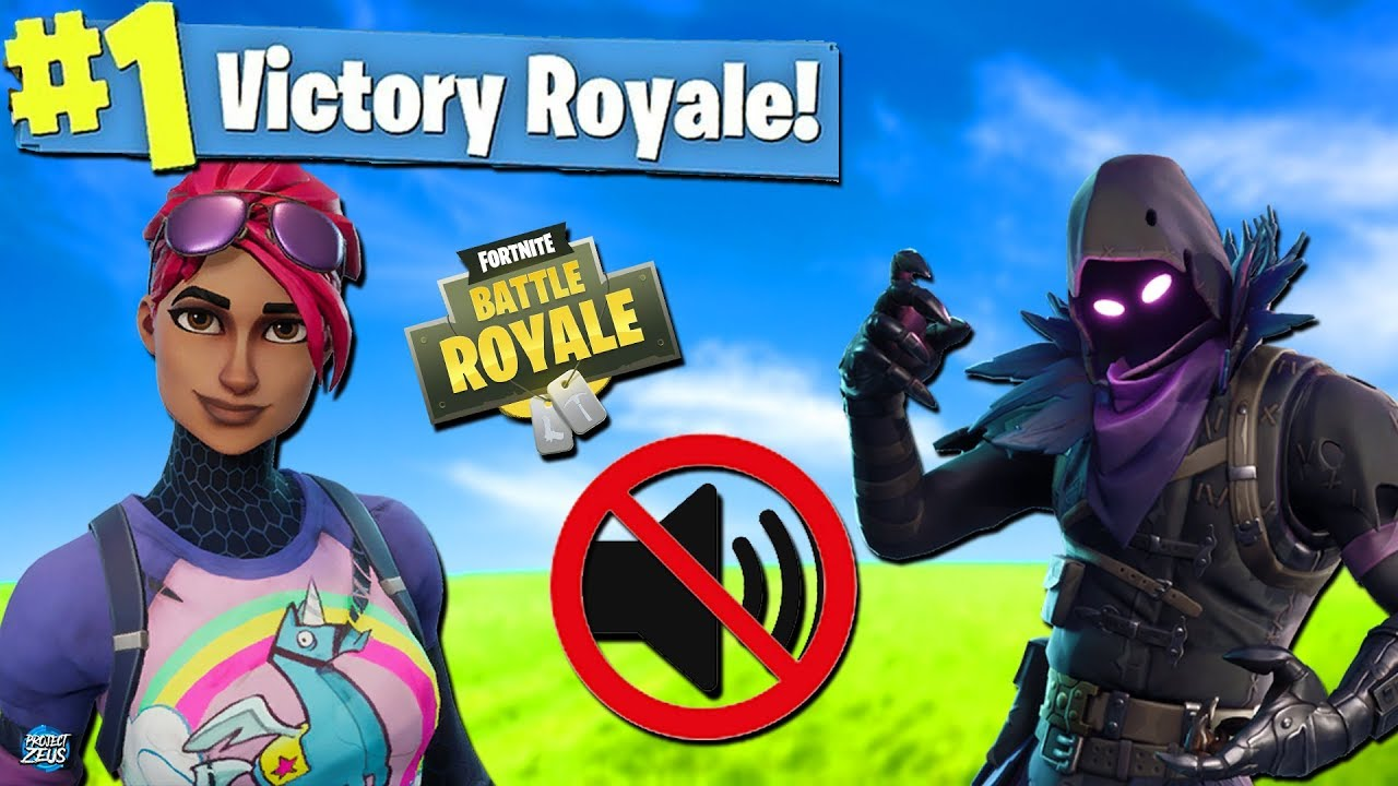 WIN BUT WITH NO SOUND!-THE NO SOUND CHALLENGE ( FORTNITE: BATTLE ROYALE)