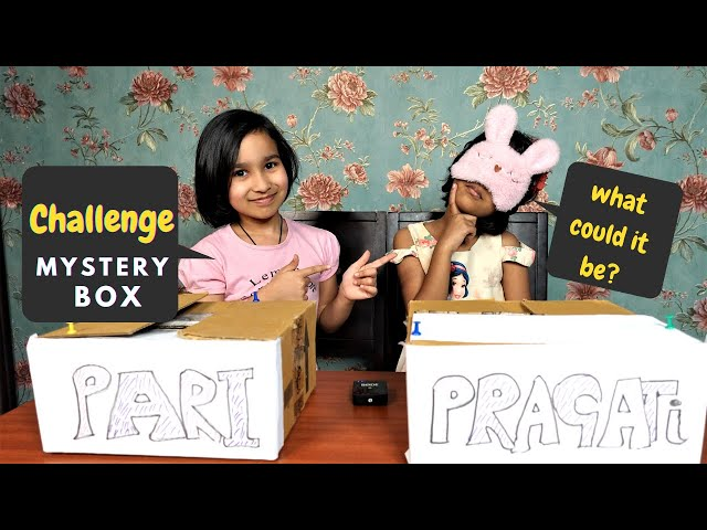 Challenge Game / Mystery Box / | #LearnWithPari #Aadyansh