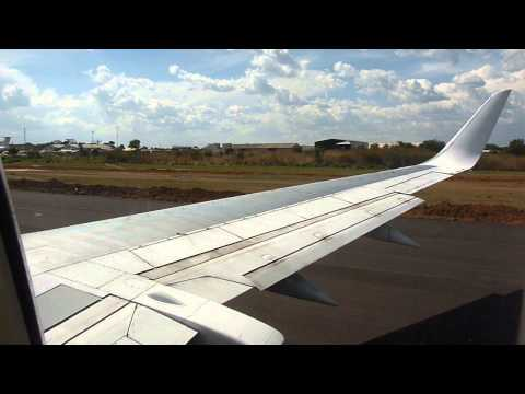 2014 Congo   Lubumbashi, Luano, Atterrissage Avec Korongo Airlines, by HabariSalam