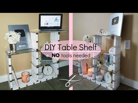 diy-glass-table-shelf---organizer---lots-of-storage--glam-decor---diy-home-decor---modern---budget