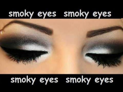 Макияж глаз смоки айс. Как правильно сделать Smoky eyes.