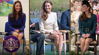 """Etiquette expert, myka meier, shows us how to sit like a duchess with the """"cambridge cross"""".subscribe peopletv ►► http://bit.ly/subscribepeopletvpeopletv ..."""