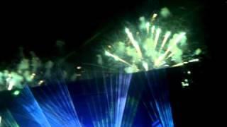 Jean-Michel Jarre - Chronologie Part 2 (clip) @ Akershus Festning, Aug 2010