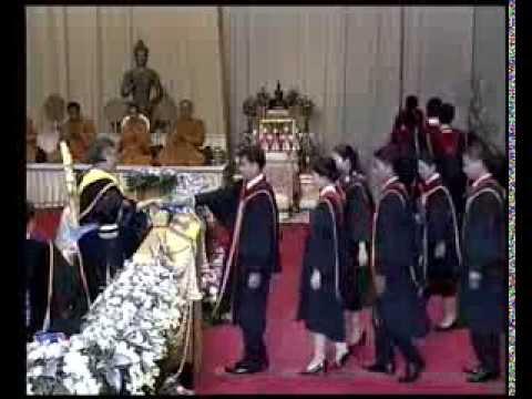 พิธีพระราชทานปริญญาบัตรแก่บัณฑิตรามคำแหง รุ่นที่ 39 - วันที่ 7 มีนาคม 2557 คาบบ่าย