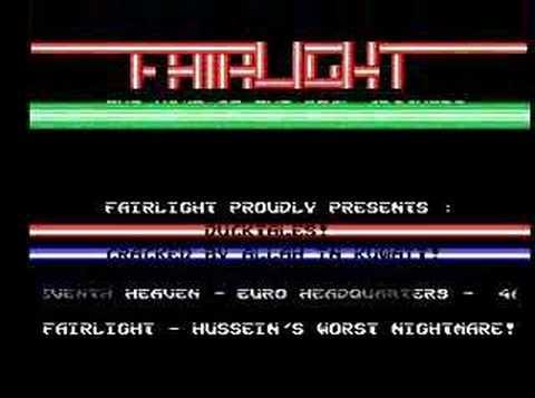 Fairlight Amiga Cracktro (Duck Tales)