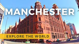 Walking in MANCHESTER 4k Oxford Road Tour England